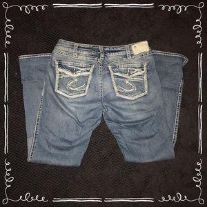 Silver Suki jeans 33X33